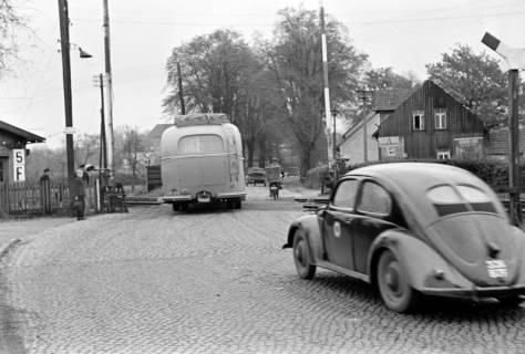 ARH NL Dierssen 1092/0006, Bahnübergang, Ehlershausen, 1950