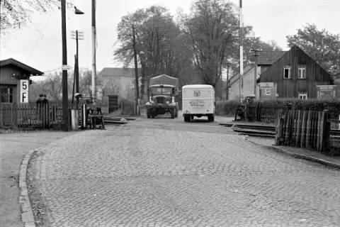ARH NL Dierssen 1092/0008, Bahnübergang, Ehlershausen, 1950