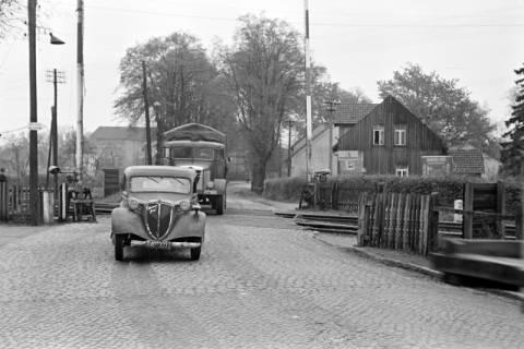 ARH NL Dierssen 1092/0010, Bahnübergang, Ehlershausen, 1950