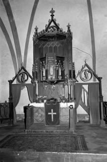 ARH NL Dierssen 1093/0016, Altar der St.-Dionysius-Kirche, Adensen, 1950