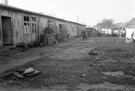 """ARH NL Dierssen 1098/0005, Baracken """"Haus Hahme"""", Godshorn, 1950"""