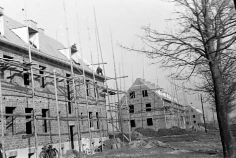 ARH NL Dierssen 1118/0025, Bau von Häusern an der Sorgenser Straße, Burgdorf, 1951
