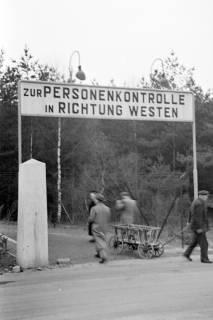 ARH NL Dierssen 1122/0005, Zonengrenze, Helmstedt, 1951