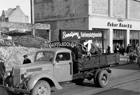 ARH NL Dierssen 1135/0009, Demonstration der Kohlenhändler, Hannover, 1951