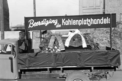 ARH NL Dierssen 1135/0010, Demonstration der Kohlenhändler, Hannover, 1951
