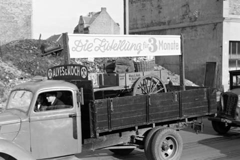 ARH NL Dierssen 1135/0011, Demonstration der Kohlenhändler, Hannover, 1951