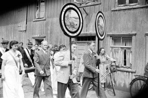 ARH NL Dierssen 1138/0012, Schützenfest, Schulenburg, 1951