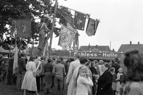 ARH NL Dierssen 1142/0011, Schützenfest, Eldagsen, 1951