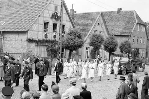 ARH NL Dierssen 1142/0015, Schützenfest, Eldagsen, 1951
