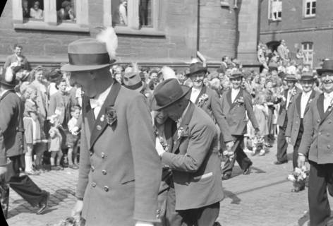 ARH NL Dierssen 1144/0006, Schützenfest, Hannover, 1951
