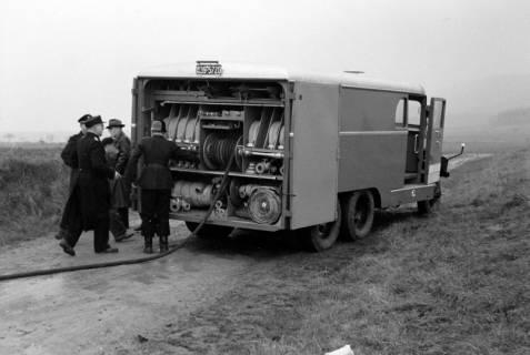 ARH NL Dierssen 1162/0016, Löschübung mit dem neuen Tanklöschfahrzeug, Springe, ohne Datum