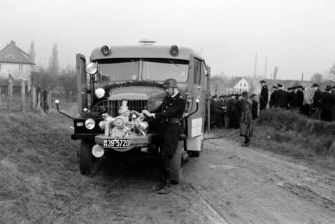 ARH NL Dierssen 1162/0017, Löschübung mit dem neuen Tanklöschfahrzeug, Springe, ohne Datum