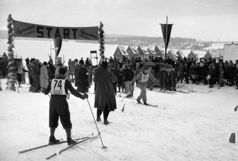 ARH NL Dierssen 1171/0010, Deutsche Skimeisterschaft, Braunlage, 1952