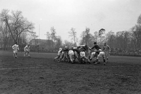 ARH NL Dierssen 1175/0015, Rugby Deutschland - Belgien, Hannover, 1952