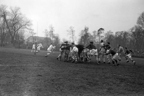 ARH NL Dierssen 1175/0016, Rugby Deutschland - Belgien, Hannover, 1952