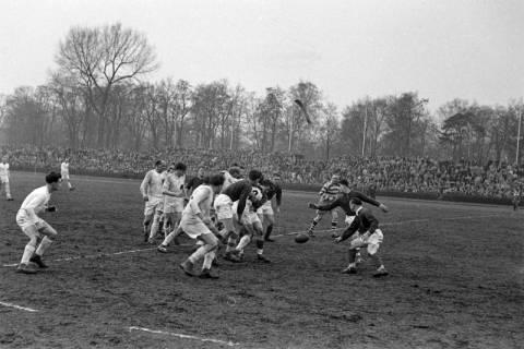 ARH NL Dierssen 1175/0017, Rugby Deutschland - Belgien, Hannover, 1952