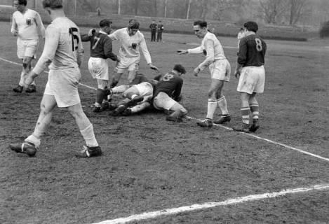 ARH NL Dierssen 1175/0019, Rugby Deutschland - Belgien, Hannover, 1952
