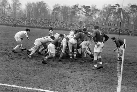 ARH NL Dierssen 1175/0020, Rugby Deutschland - Belgien, Hannover, 1952