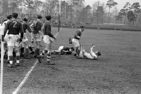 ARH NL Dierssen 1175/0021, Rugby Deutschland - Belgien, Hannover, 1952