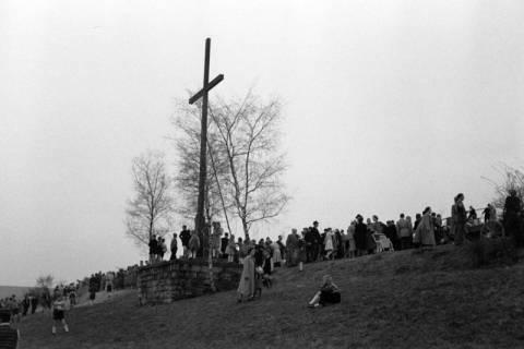 ARH NL Dierssen 1180/0020, Osterfeuerräder, Lügde, 1952