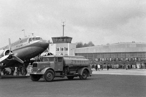 ARH NL Dierssen 1182/0016, Flugplatz, Langenhagen, 1952