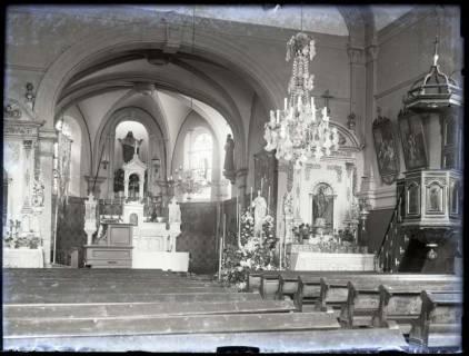 ARH NL Kageler 5, 1. Weltkrieg, Kirche von innen, Frankreich, zwischen 1914/1918