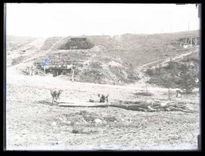 ARH NL Kageler 9, 1. Weltkrieg, Artilleriestellung, Frankreich, zwischen 1914/1918