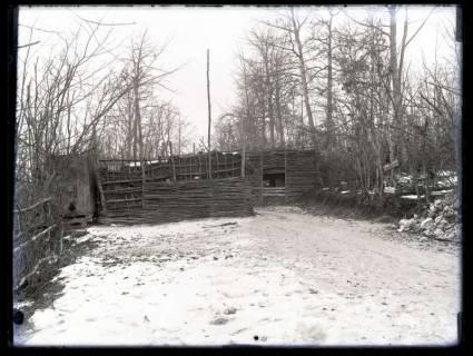 ARH NL Kageler 10, 1. Weltkrieg, Eingang zum Scheuring-Graben, Frankreich, zwischen 1914/1918