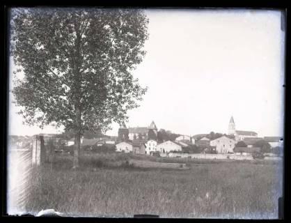 ARH NL Kageler 11, 1. Weltkrieg, Stadtansicht, Frankreich, zwischen 1914/1918