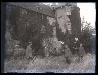 ARH NL Kageler 19, 1. Weltkrieg, Soldaten mit Brieftauben, Frankreich, zwischen 1914/1918