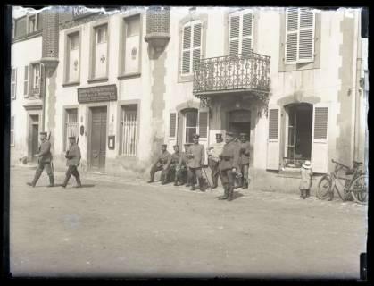 ARH NL Kageler 23, 1. Weltkrieg, Wache in Gravelotte, Frankreich, zwischen 1914/1918