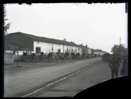 ARH NL Kageler 28, 1. Weltkrieg, Fuhrwerkkolonne, Frankreich, zwischen 1914/1918