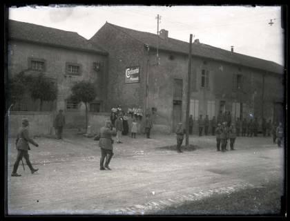 ARH NL Kageler 47, 1. Weltkrieg, König Wilhelm II. von Württemberg in Gravelotte, Frankreich, zwischen 1914/1918