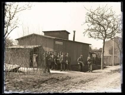 ARH NL Kageler 50, 1. Weltkrieg, Badeanstalt Unterhofen, Frankreich, zwischen 1914/1918