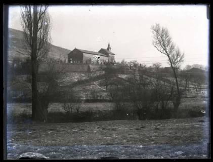 ARH NL Kageler 52, 1. Weltkrieg, Friedhof und Kapelle, Frankreich, zwischen 1914/1918