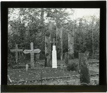 ARH NL Kageler 86, 1. Weltkrieg, Friedhof im Priesterwald (Bois-le-Prêtre), Frankreich, zwischen 1914/1918