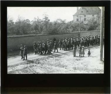 ARH NL Kageler 94, 1. Weltkrieg, Soldatenbegräbnis in Secourt, Frankreich, zwischen 1914/1918