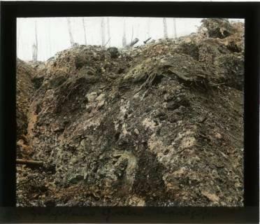 ARH NL Kageler 98, 1. Weltkrieg, Zerschossener Graben, Maashöhen, Frankreich, zwischen 1914/1918