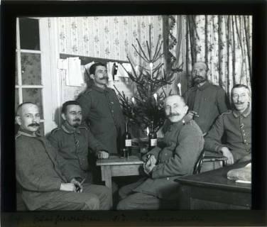 ARH NL Kageler 112, 1. Weltkrieg, Weihnachten 1917, Arnaville, Frankreich, um 1917