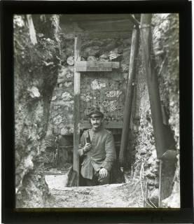 ARH NL Kageler 118, 1. Weltkrieg, Kompanieführer, Maashöhen, Frankreich, zwischen 1914/1918