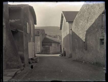 ARH NL Kageler 131, 1. Weltkrieg, Straße in Pierrevillers, Frankreich, zwischen 1914/1918