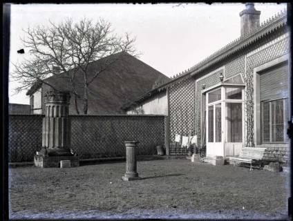 ARH NL Kageler 142, 1. Weltkrieg, Haus mit Säulen, Frankreich, zwischen 1914/1918