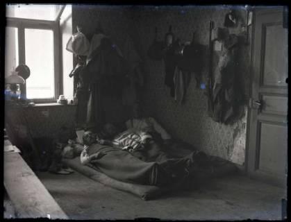 ARH NL Kageler 149, 1. Weltkrieg, Mannschaftsquartier, Frankreich, zwischen 1914/1918