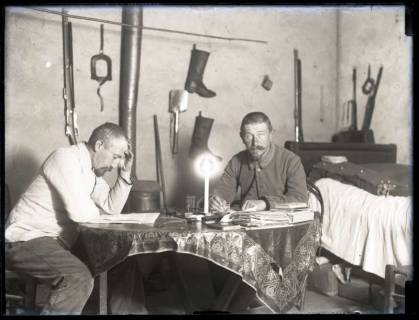 """ARH NL Kageler 150, 1. Weltkrieg, """"im Quartier mit König"""", Frankreich, zwischen 1914/1918"""