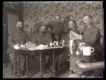 ARH NL Kageler 151, 1. Weltkrieg, im Quartier vom Goldenem Ross, Gravelotte, Frankreich, zwischen 1914/1918