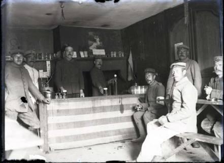ARH NL Kageler 154, 1. Weltkrieg, Kantine in Gravelotte, Frankeich, zwischen 1914/1918