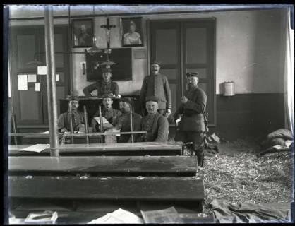 ARH NL Kageler 155, 1. Weltkrieg, Wachstube in Maizières-lès-Metz, Frankreich, zwischen 1914/1918