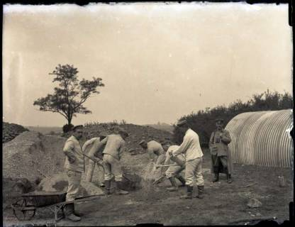 """ARH NL Kageler 160, 1. Weltkrieg, """"Zementmischen"""", Frankreich, zwischen 1914/1918"""
