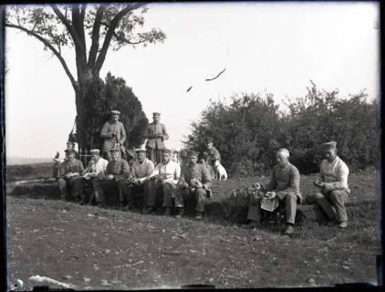 """ARH NL Kageler 161, 1. Weltkrieg, """"Frühstückspause"""", Frankreich, zwischen 1914/1918"""