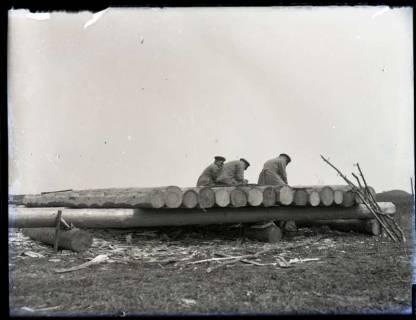 """ARH NL Kageler 163, 1. Weltkrieg, """"Langeweile"""", Frankreich, zwischen 1914/1918"""